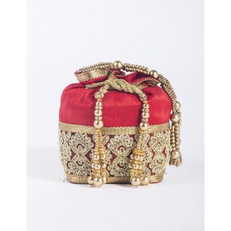 """Red pouch """"Palace"""""""