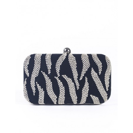 "Zebra  clutch ""Caroline"""