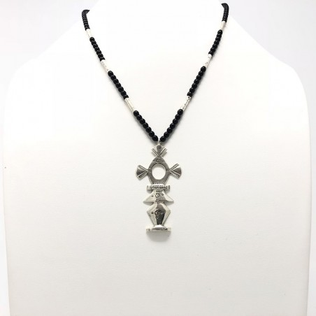 "Tuareg cross made of 925 sterling silver ""Tachmer"""