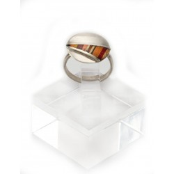 """Silver Ring """"Triangle"""""""
