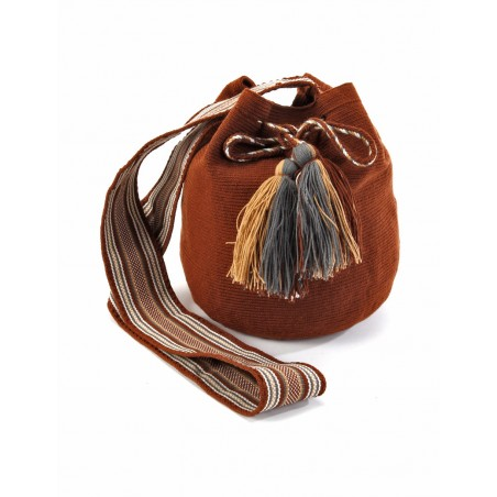 Brown Wayúu bag
